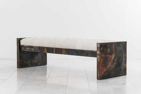 Paul Evans Welded Steel Bench