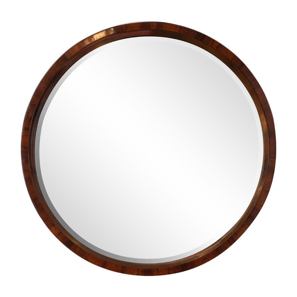 Brazilian Rosewood Wall Mirror