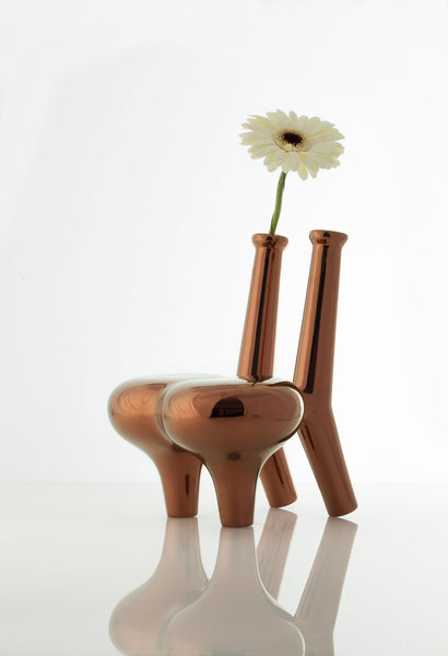 Satyendra Pakhalé Flower Offering Chair (Rame)
