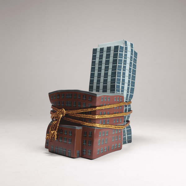 Naihan Li I am a monument Lacquer Chair - Conventional Building #1