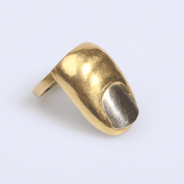 "Bruno Martinazzi ""Dito"" Gold Finger Ring"