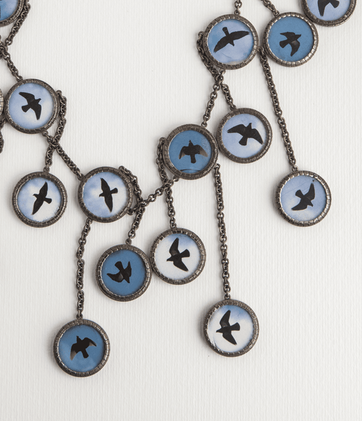 Daniel Kruger Birds Necklace