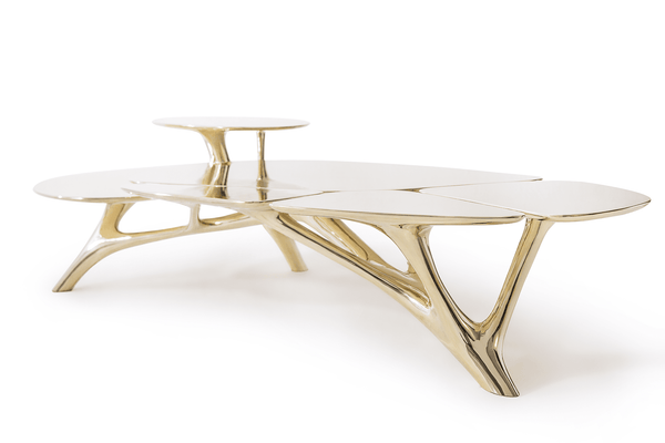 Zhipeng Tan Lotus Coffee Table