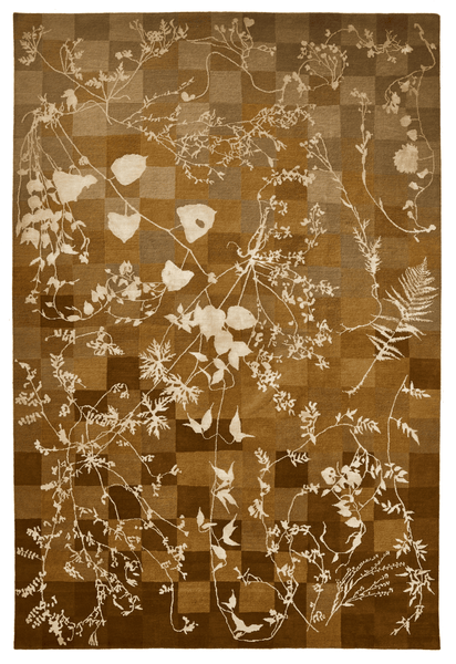 Glithero Botanical Rug in Corn