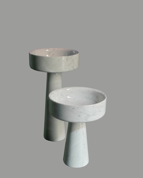Angelo Mangiarotti Two Pedestals