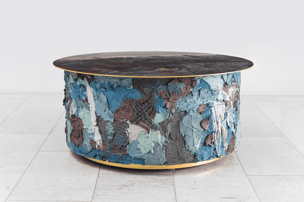 Stefan Rurak Concrete and Steel Low Table No.3