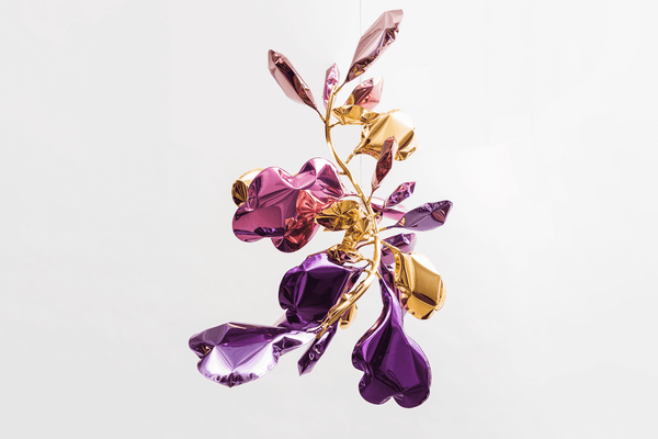 Dominick Leuci Eques Calista Sconce in Orchid