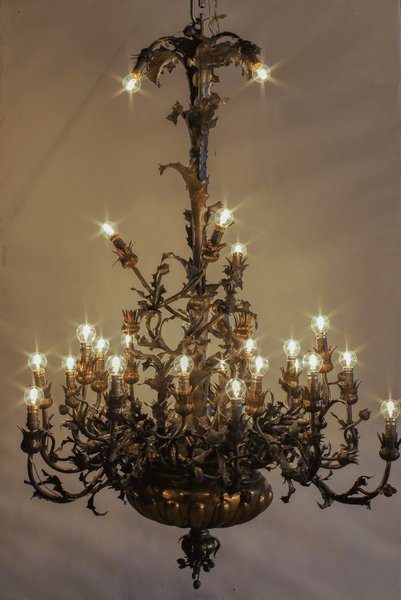 Thistles Chandelier