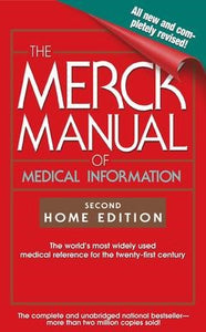 Merck Manual of Medical Information Home Edition