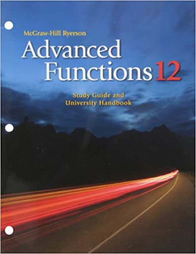 Advanced Functions 12 Study Guide