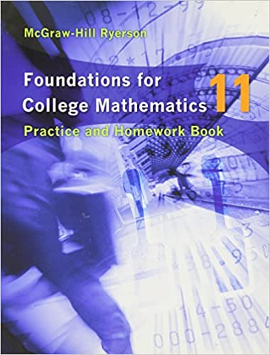 Foundations for College Math 11 Workbook