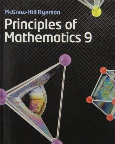 Principles of Mathematics 9