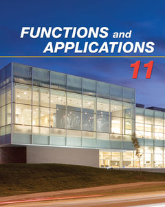 Functions & Applications 11 Student Book: Student Text + Online PDF Files