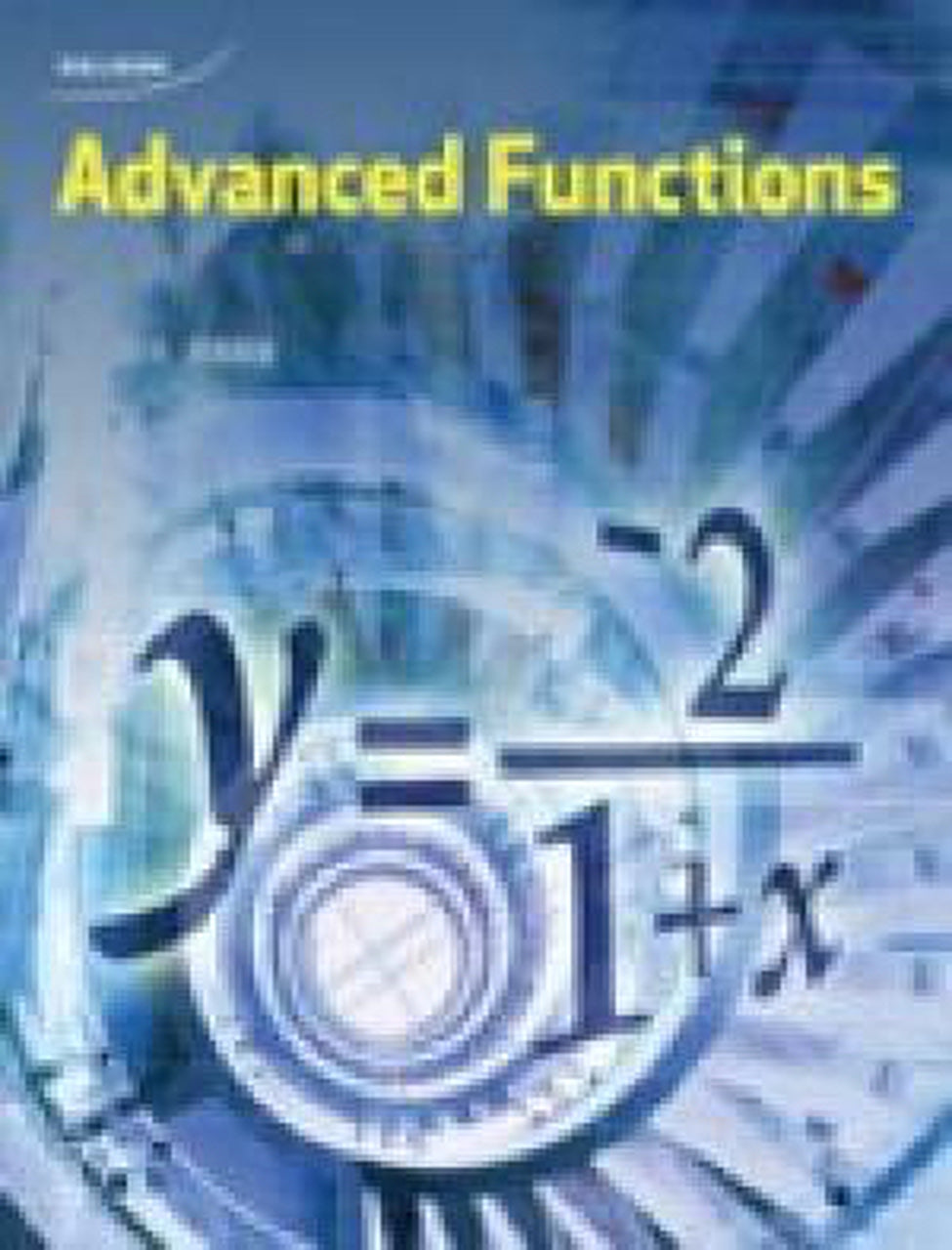 Advanced Functions 12 Student Book + Online PDF