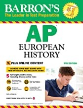 Barron's AP European History, 9th Edition: with Bonus Online Tests