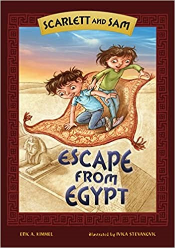Scarlett and Sam: Escape from Egypt -Hardcover -