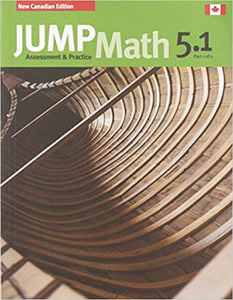 Jump Math Ap Book 5.1 New Canadian Ed