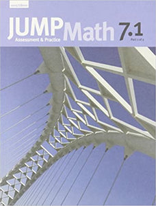 Jump Math Ap Book 7.1 Canadian Edition