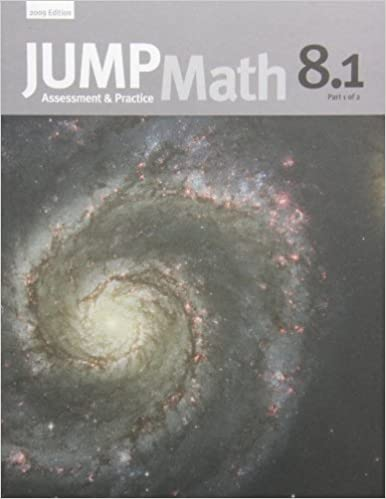 Jump Math Ap Book 8.1 New Canadian Ed