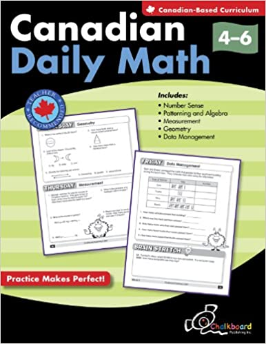 Canadian Daily Math Grades 4-6
