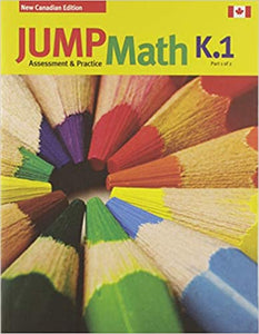 Jump Math AP Book K.1 (New Edition)