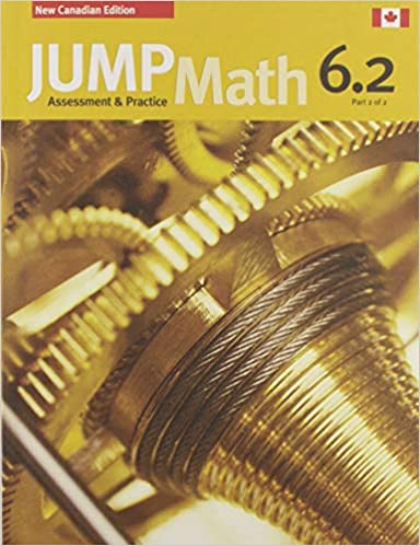 Jump Math Ap Book 6.2 New Canadian Editi