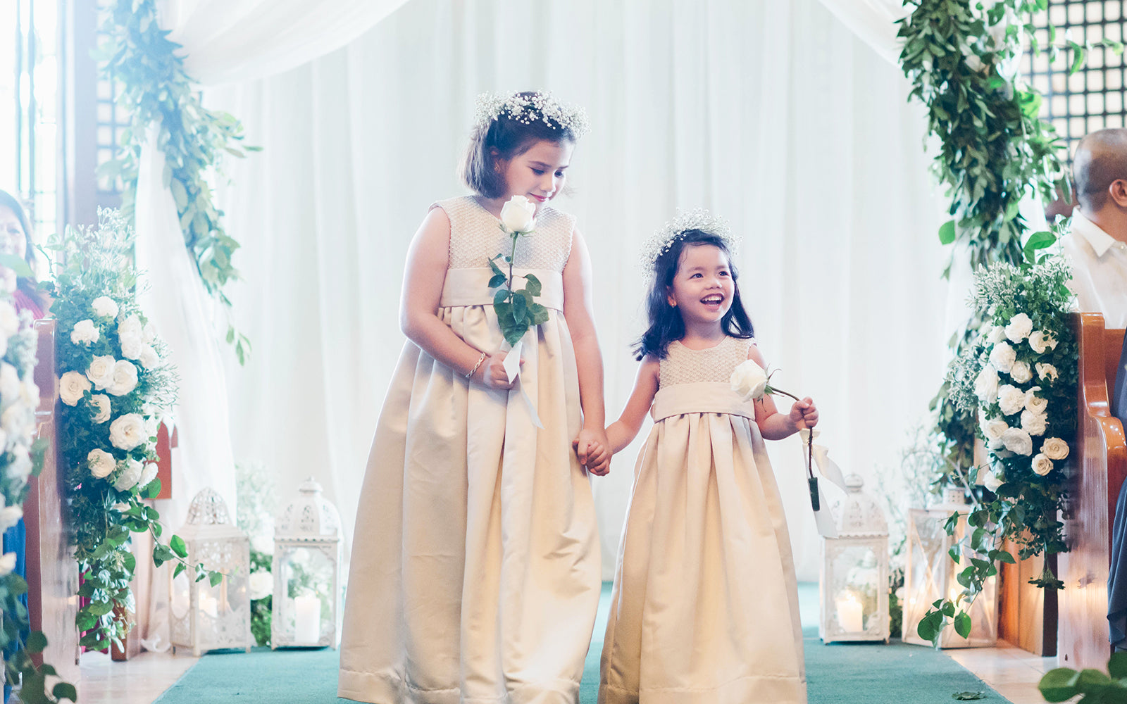 Ines Moda Infantil Wedding entourage dresses