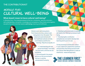 Module Five: Cultural Well-Being