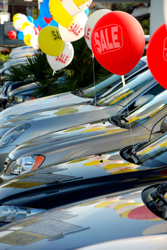 Car Dealership Balloons