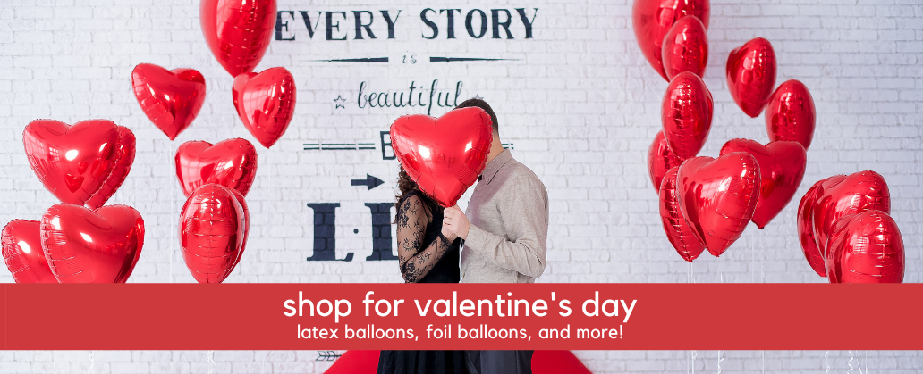 Valentine's Day Balloons - Wholesale Valentine's Balloons