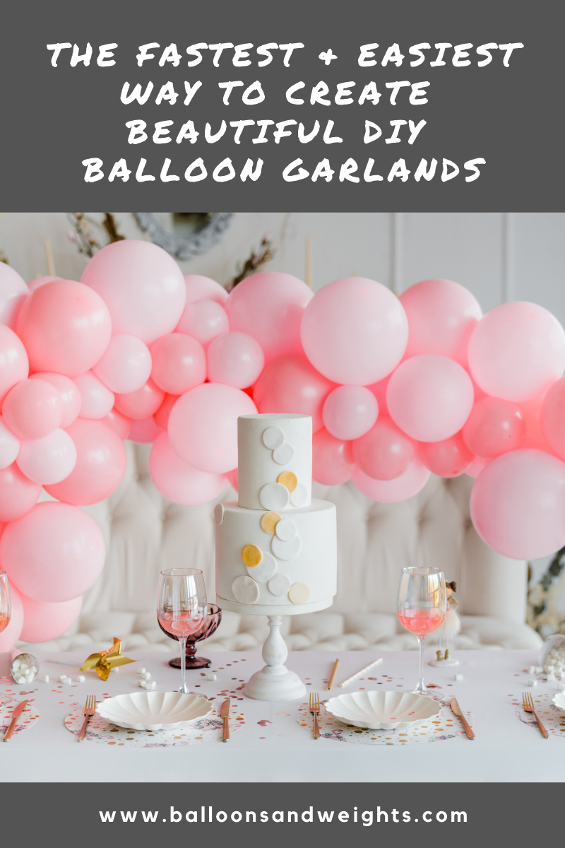 Balloon Garland Tips from Party Pros - Faster and Easier DIY Balloon Garlands