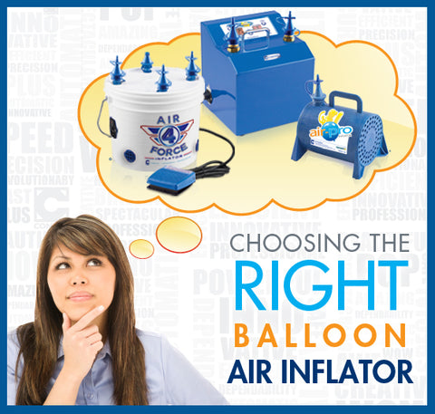 Choosing the right balloon inflator