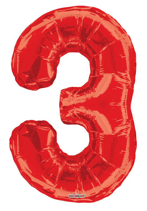 "34"" Jumbo Number Foil Balloons 