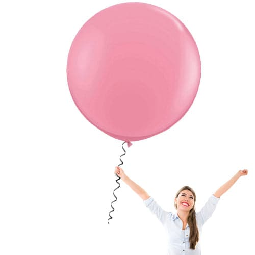 36 Inch Latex Balloons | Decorator Hot Pink | 10 pc bag