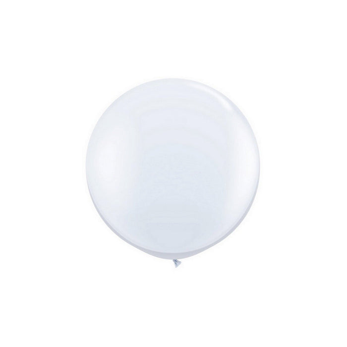 "66"" Latex Balloons - White (4 pcs / bag - 1 bag / case)"