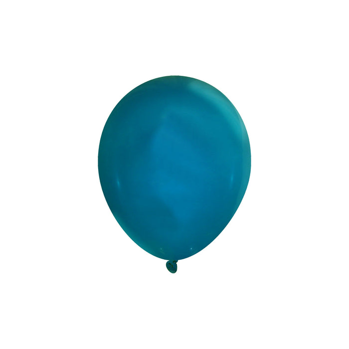 Bulk 5 Inch Latex Balloons | Decorator | Aqua Marine | 144 pc bag x 10 bags