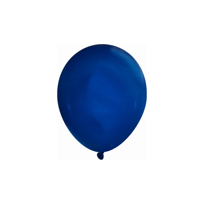 5 Inch Navy Blue Balloons | Decorator Navy Blue Latex Balloons | 144 pc bag