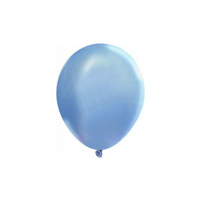 5 Inch Sky Blue Balloons | Decorator Sky Blue Latex Balloons | 144 pc bag