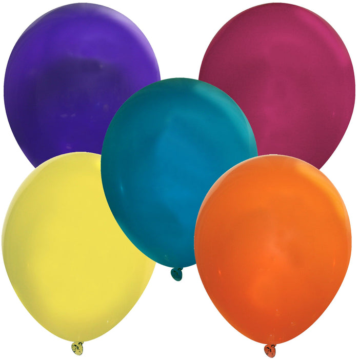 Bulk 5 Inch Latex Balloons | Decorator Assorted Colors | 144 pc bag x 10 bags