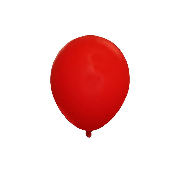 Bulk 5 Inch Latex Balloons | Decorator Brite Red | 144 pc bag x 10 bags