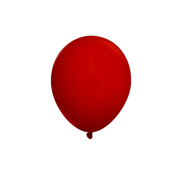 Bulk 5 Inch Latex Balloons | Decorator Cherry Red | 144 pc bag x 10 bags