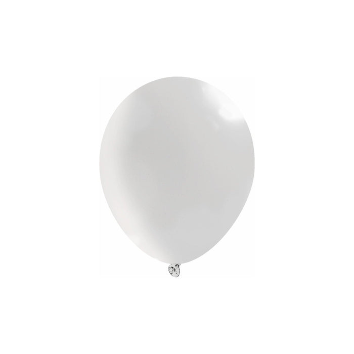 Bulk 5 Inch Latex Balloons | Decorator Clear | 144 pc bag x 10 bags