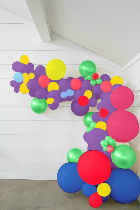 25-ft DIY Balloon Garland Kit with Assorted Color Balloons