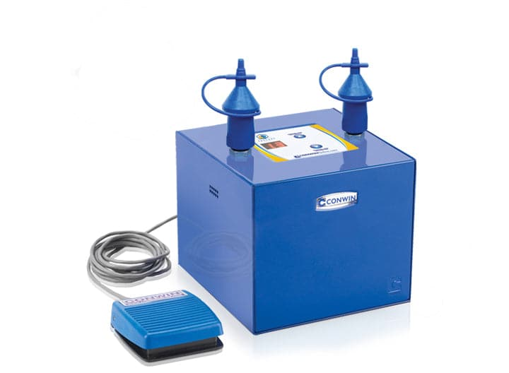 Conwin Cube Balloon Inflator | The Professional, Automatic Latex Balloon Sizer