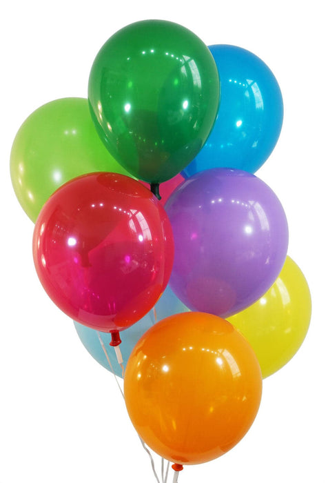 "Bulk 12"" Decorator Assortment Latex Balloons 