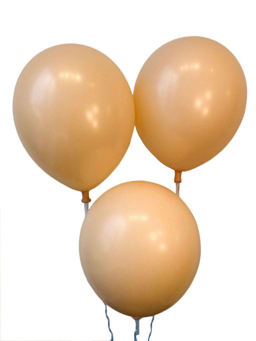 12 Inch Decorator Beige Latex Balloons | 100 pc bag