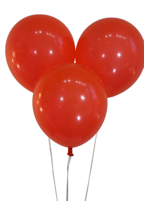12 Inch Decorator Brite Red Latex Balloons | 100 pc bag