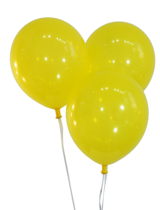 12 Inch Decorator Canary Yellow Latex Balloons | 100 pc bag