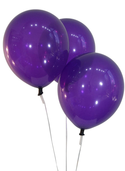 9 Inch Deep Purple Balloons | Decorator | 144 pc bag
