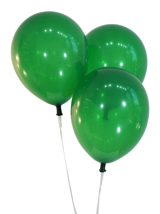 12 Inch Decorator Emerald Green Latex Balloons | 144 pc bag